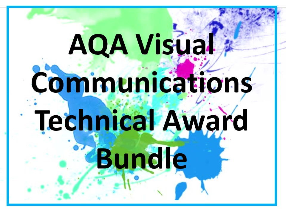 Visual Communications New AQA Technical Award Bundle
