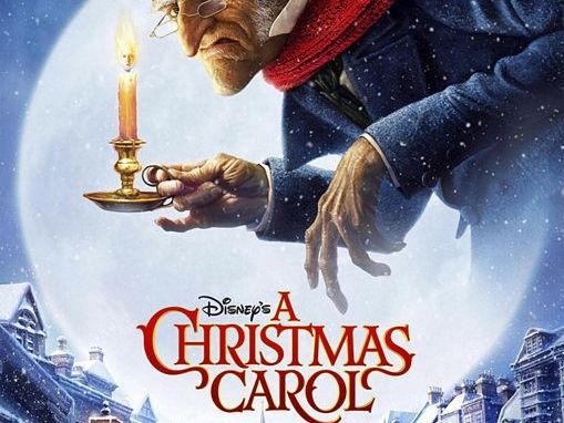 Christmas Carol Bauble Theme Display
