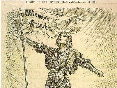 Why did some women get the vote in 1918?