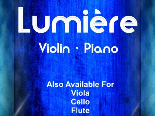 Lumiere - Violin & Piano (Score & Parts)