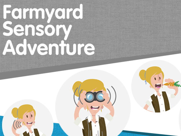 Farmyard Sensory Trail