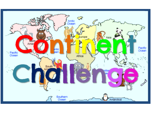 The Seven Continents Interactive Game