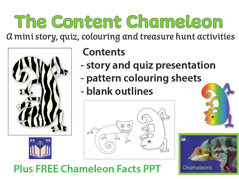 The Content Chameleon quiz & activities
