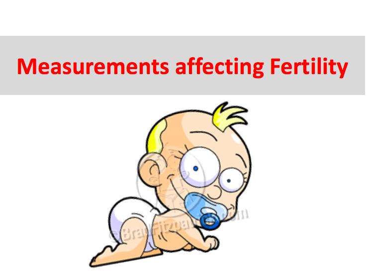 How do we measure Fertility? Development Indicators