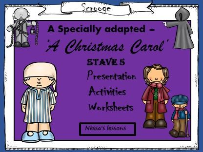 A Christmas Carol - (Adapted)  - Stave 5