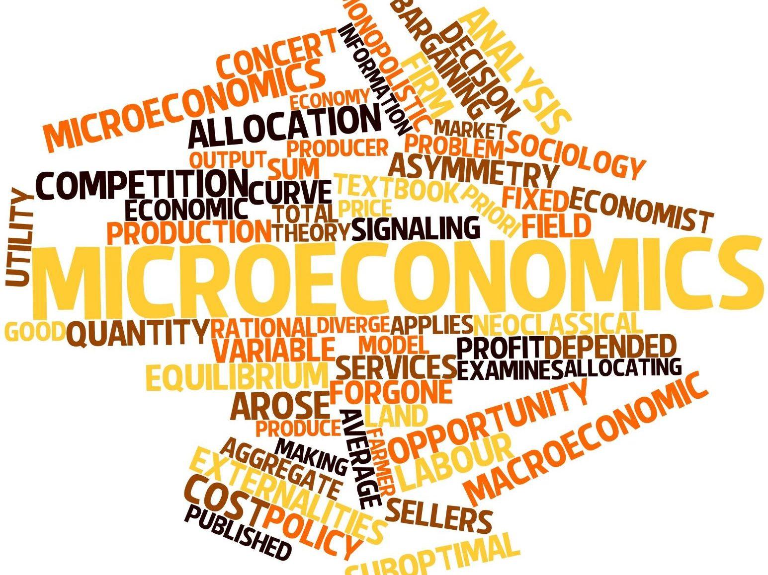 Economics Microeconomics AS