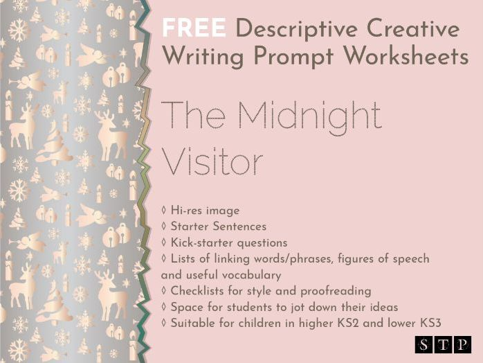 Christmas Descriptive Creative Writing Story Prompt KS2 01