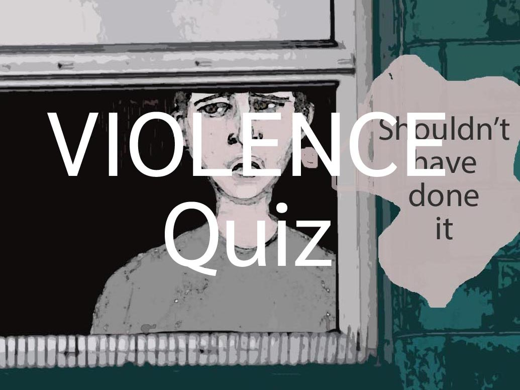Negative Emotions, Violence quizzes, Non-violence and I'm Angry posters Bundle