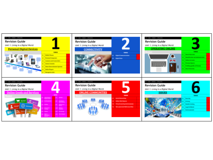 GCSE ICT Complete revision workbook pack