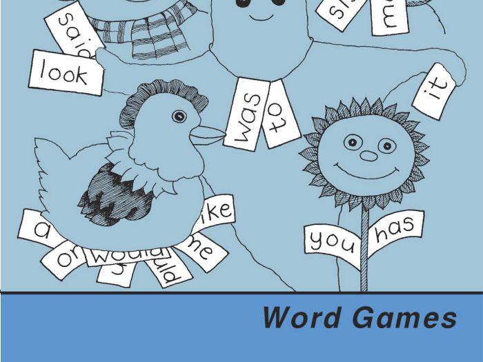 WORD GAMES: UK Version