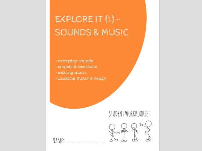 SPECIAL EDUCATION - EXPLORE IT (1) - SOUNDS & MUSIC workbooklet