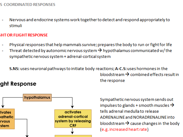 Coordinated responses [REVISION NOTES]