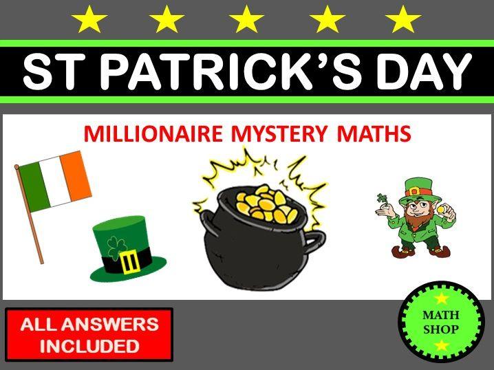 St Patricks Day Maths