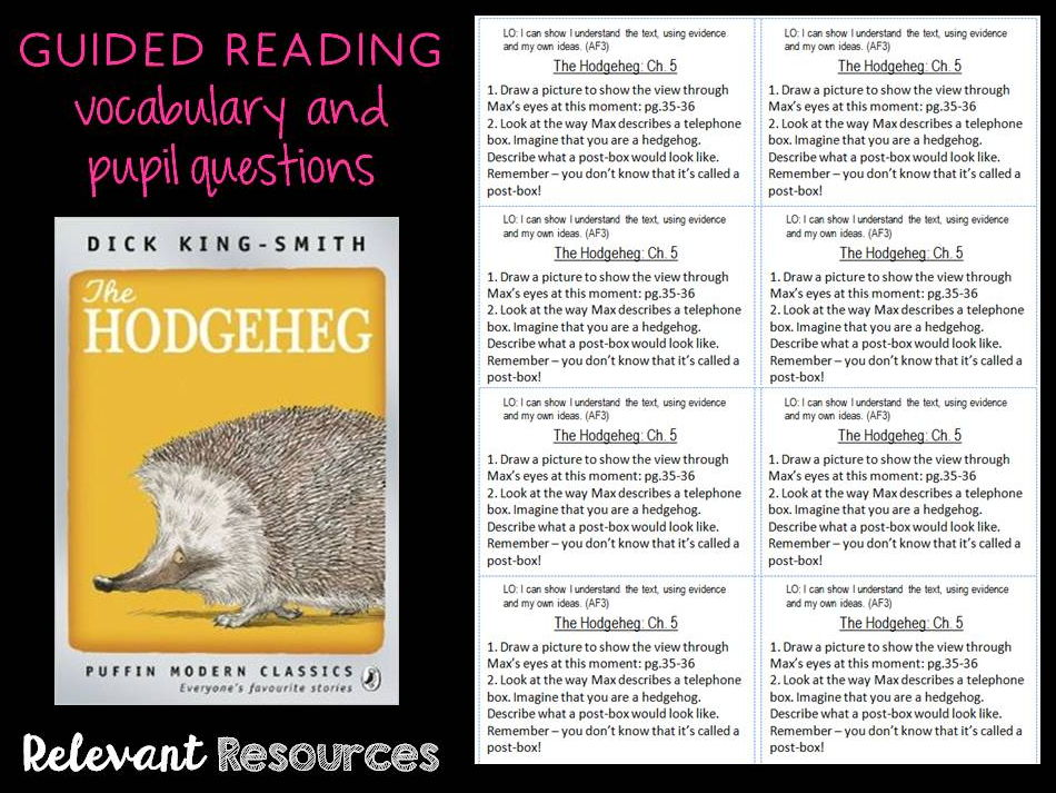 Guided Reading: Hodgeheg