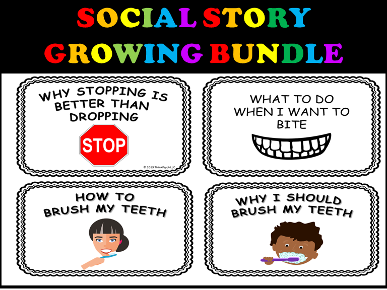 Social Stories for Behaviors and Life Skills (Bundle for Autism/Special Ed)