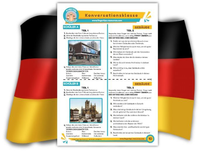 Gebäude - German Speaking Activity