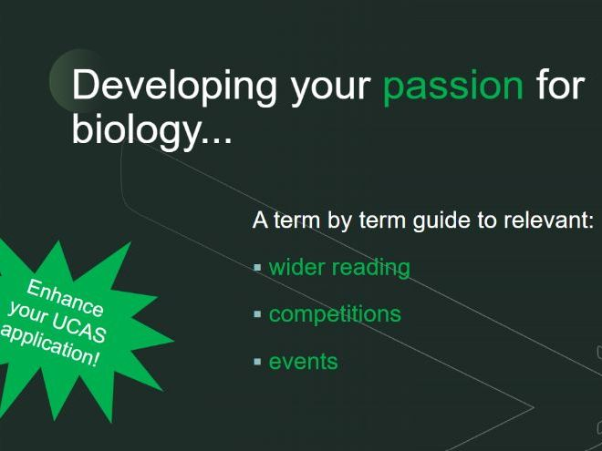 A-Level Biology Extracurricular Activities