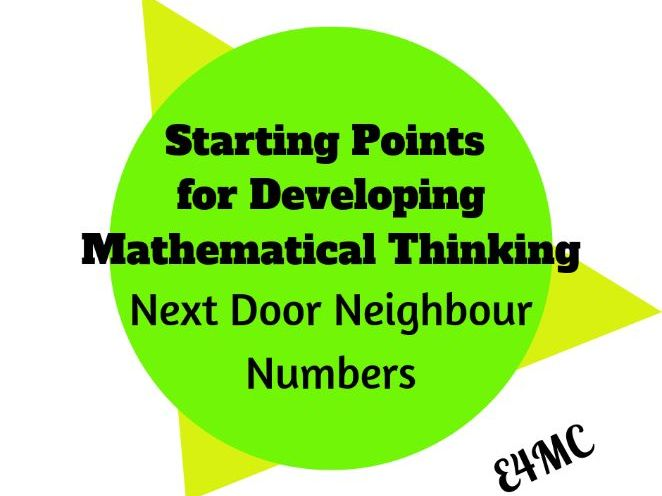 Next Door Neighbour Numbers: 8 Starting Points