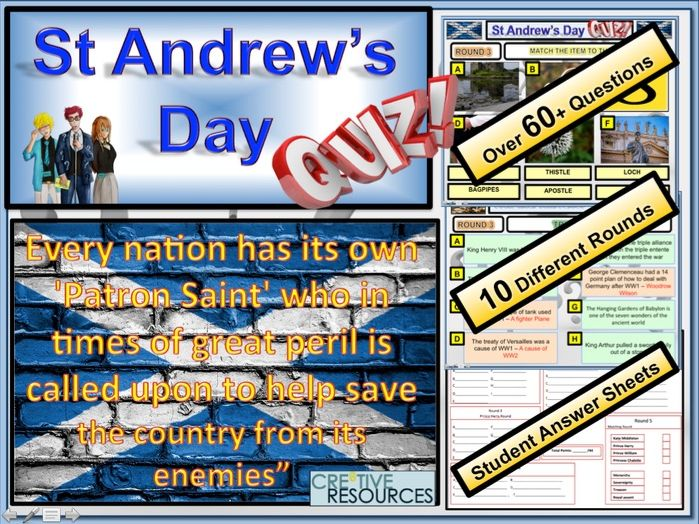 St Andrew's Day Quiz