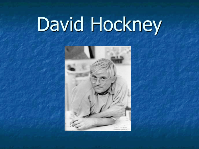 David Hockney / KS2