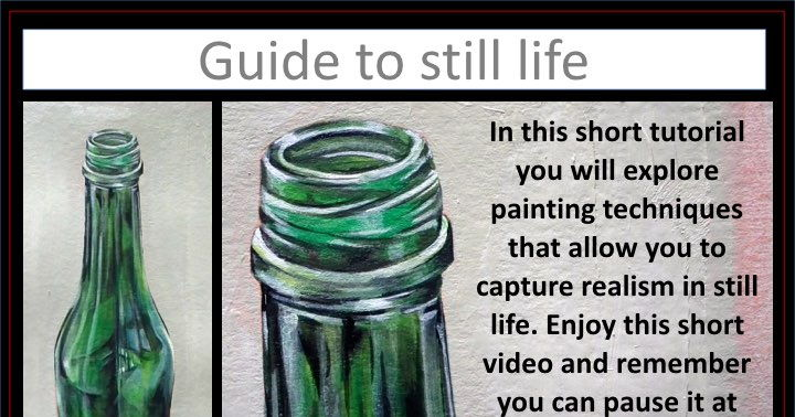 Still Life Painting Video Turorial