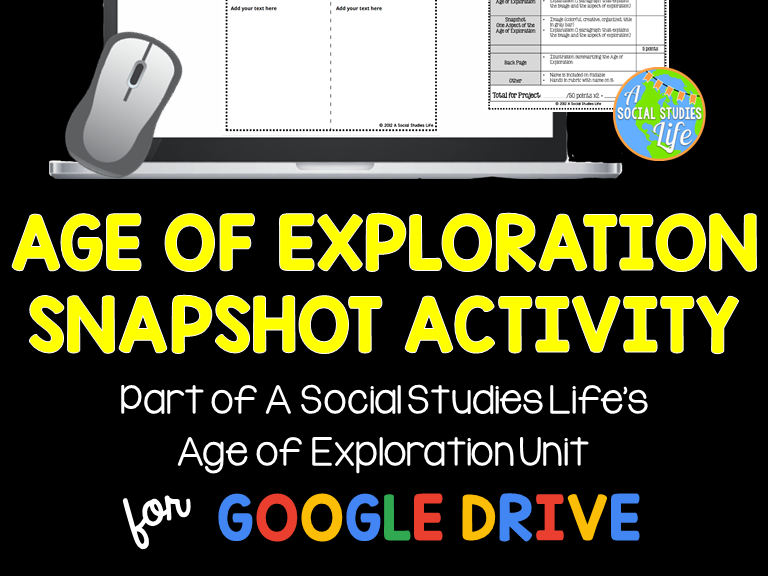 Age of Exploration Snapshot Foldable Activity