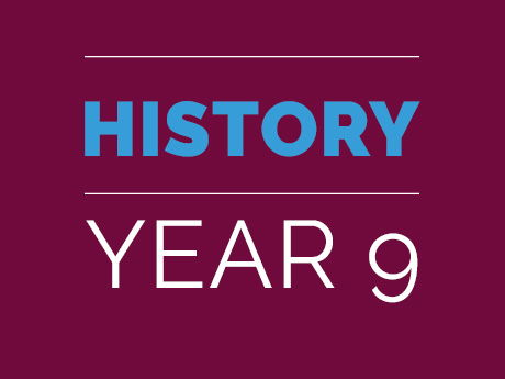 Year 9 History Bundle ONE