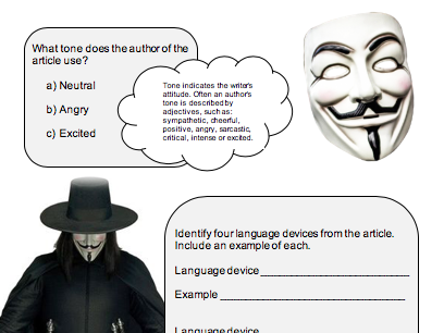 FS English Workbook - Bonfire Night/Guy Fawkes