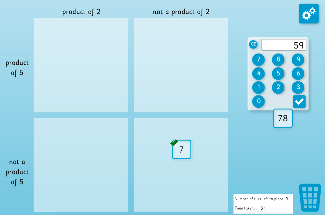 Multiplication and Division - Carroll Diagram Teaching Interactive ...