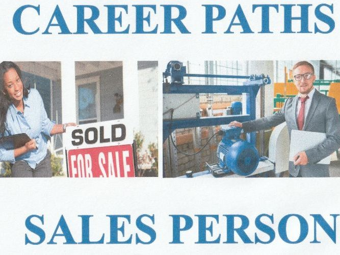 Career Paths - Sales Person