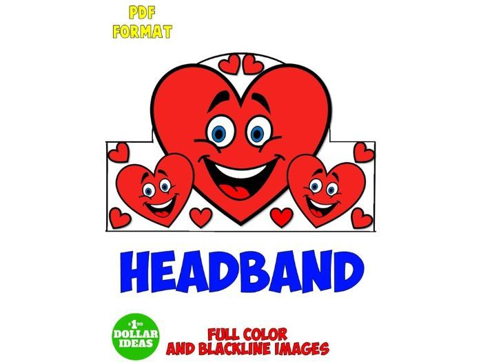 VALENTINES DAY ACTIVITIES | HEADBAND