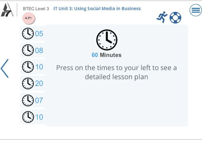 BTEC IT - Level 3  Unit 3 Using Social Media in Business  (2016)