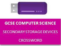 GCSE Secondary Storage Devices Crossword