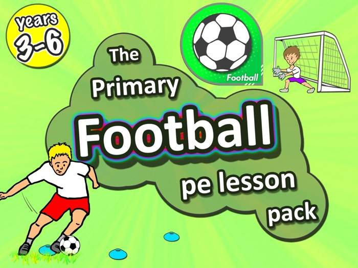 Football PE lessons - Sport unit with plans, drills, skills & games for years 3-6