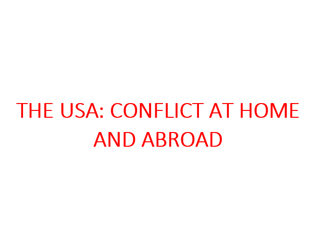 Edexcel GCSE 9-1 History: USA: Conflict at Home and Abroad COMPLETE NOTES