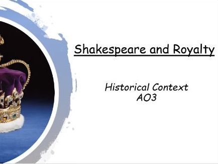 King Lear Context - Tudor King and Queens