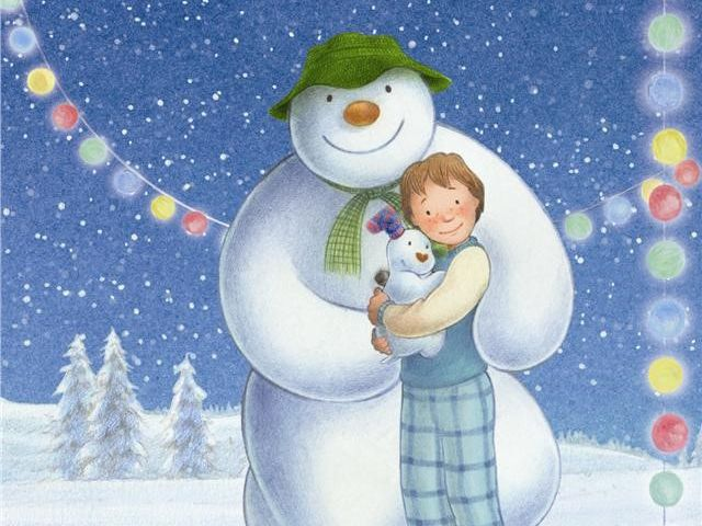 Spanish workbook for The Snowman and The Snowdog (El muñeco de nieve y el perro de nieve)
