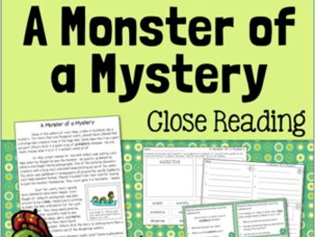 Loch Ness Monster Close Reading Pack