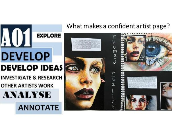 How to create exceptional and confidence artist sketchbook pages