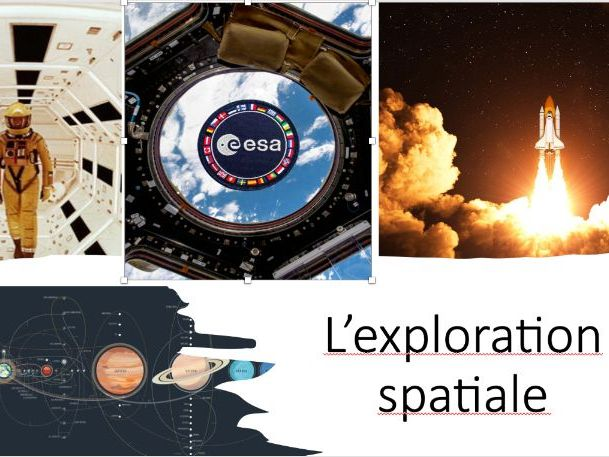 Science and Technology - Space exploration - French unit FSL - intermediate level