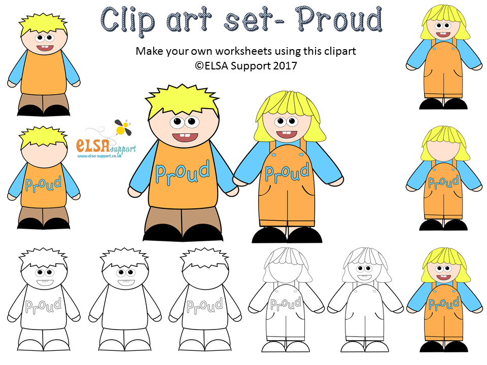 Emotions Clip art - Proud
