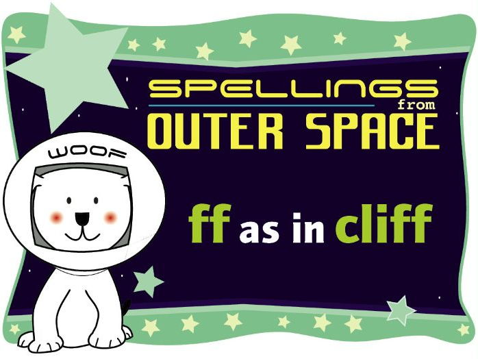 Year 1 Spellings from Outer Space: FF as in CLIFF