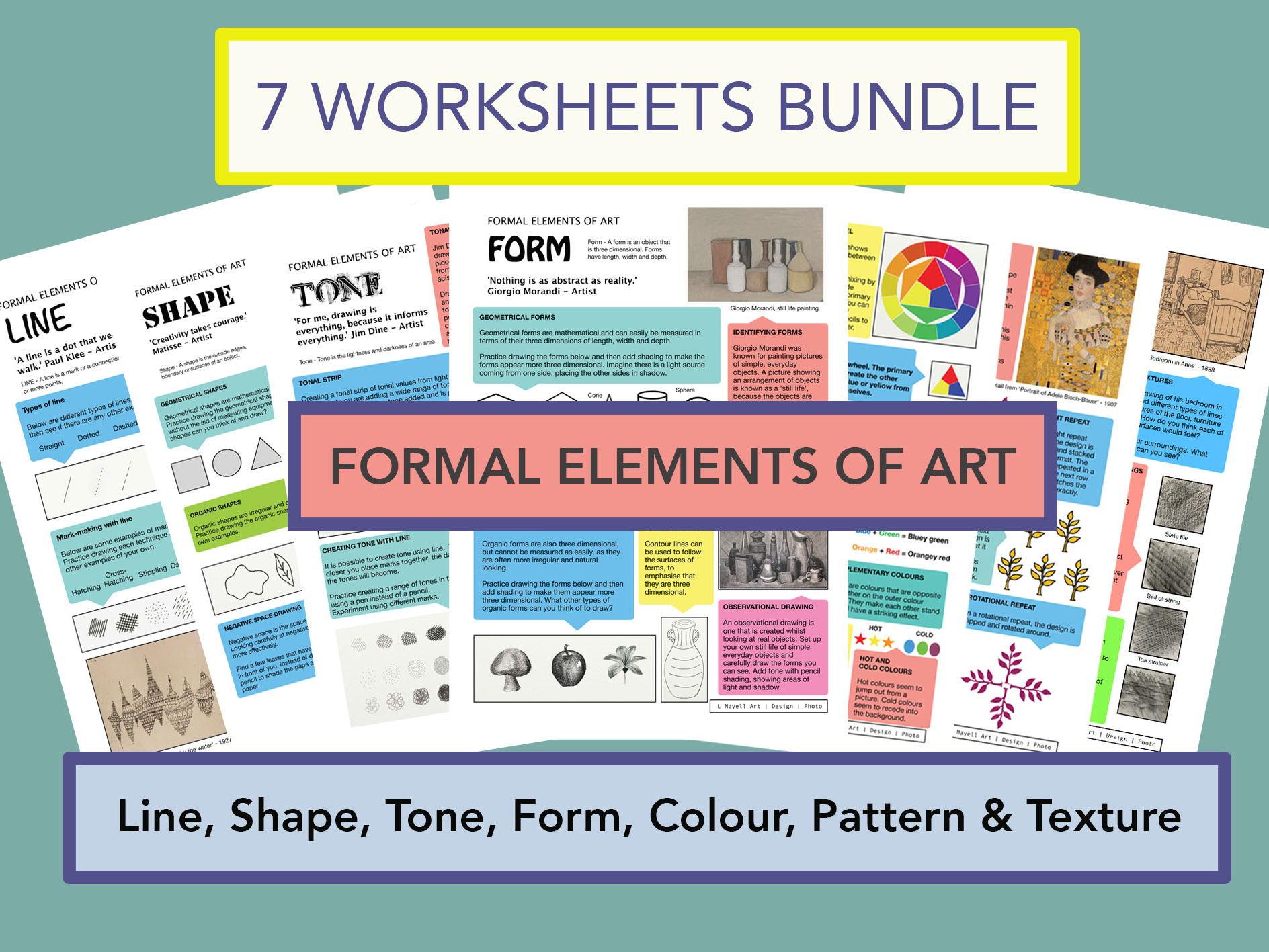 Formal Elements of Art - Full Series Bundle
