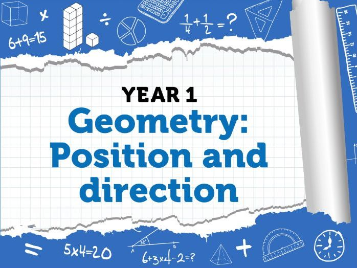 Year 1 Geometry : Position and Direction :  Week 6 - Summer Term - White Rose Maths Resources