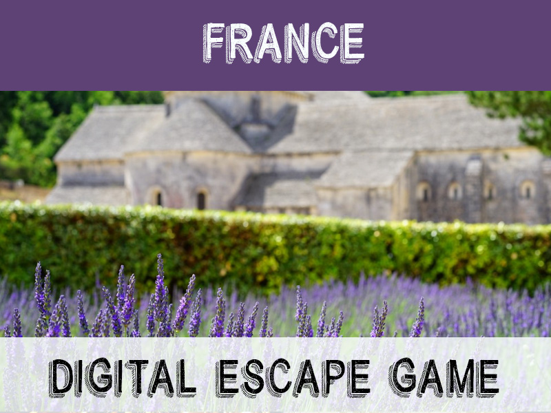 Digital Escape Game - France