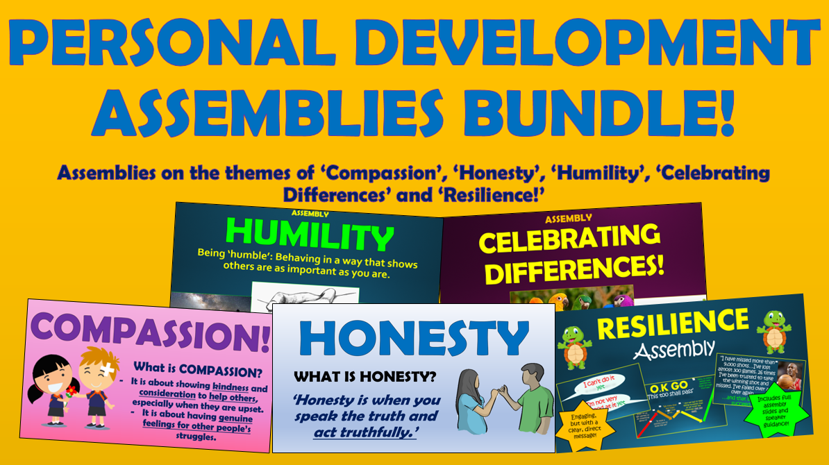 Assemblies - Personal Development Bundle!