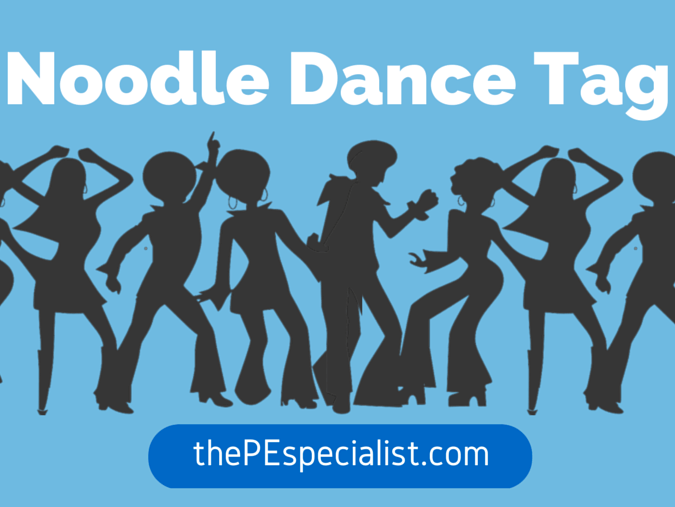 An Easy and Fun PE Game: Noodle Dance Tag