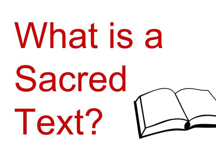 What is a Sacred Text?