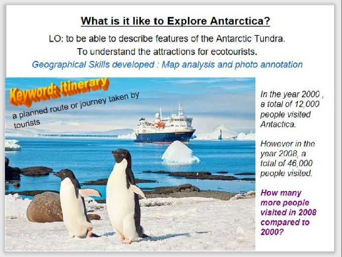 Discovering Antartica - extreme tourism