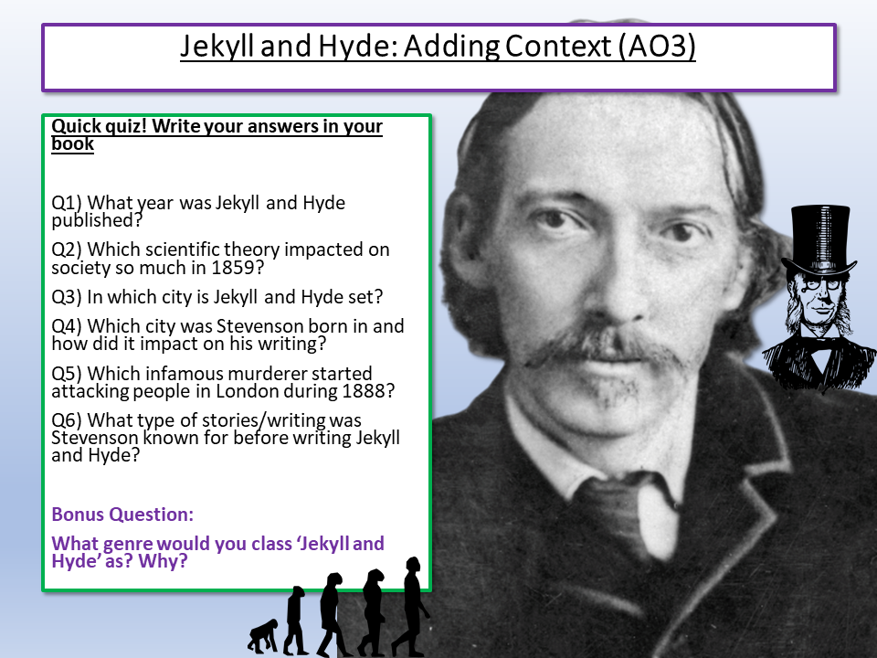 Dr Jekyll and Mr Hyde Context